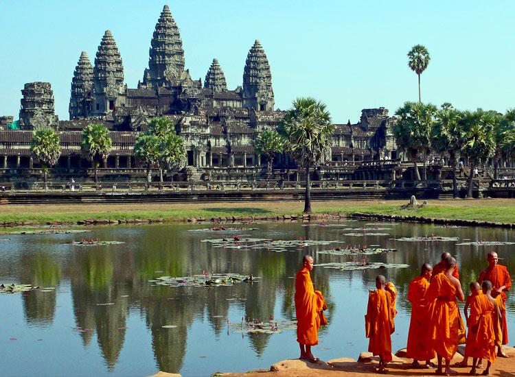 Cambodia in march