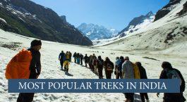 Going on treks in India