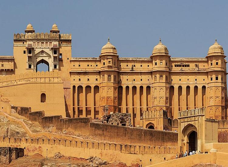 Amer Fort in Jaipur