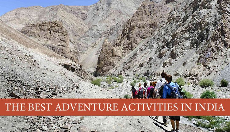 adventure activities to do at India - Must Do