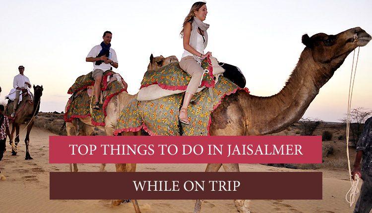 attractions in Jaisalmer