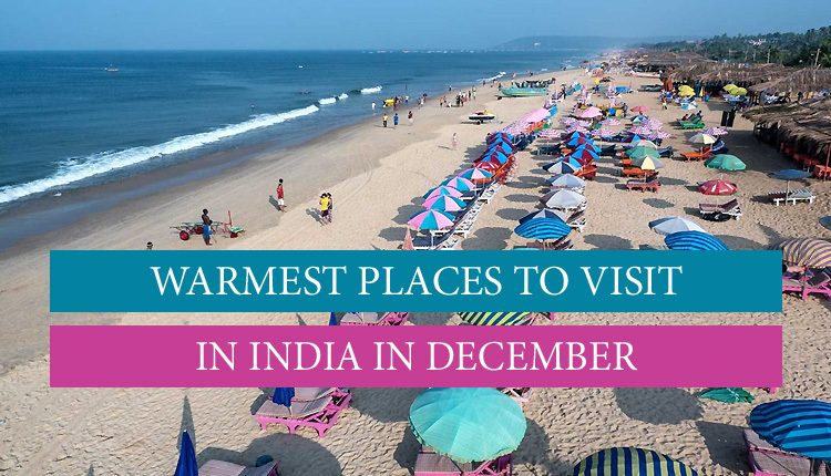 Warm places in December