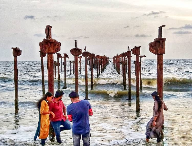 Alleppey's  Alappuzha Beach wonderful place for couples