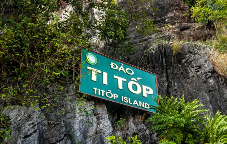 Ti Top Island in Vietnam