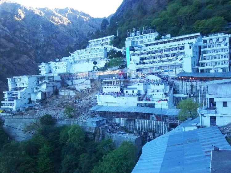 Vaishno Devi temple view