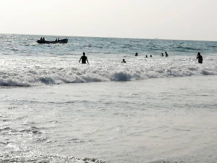 Couples in Varkala Beach