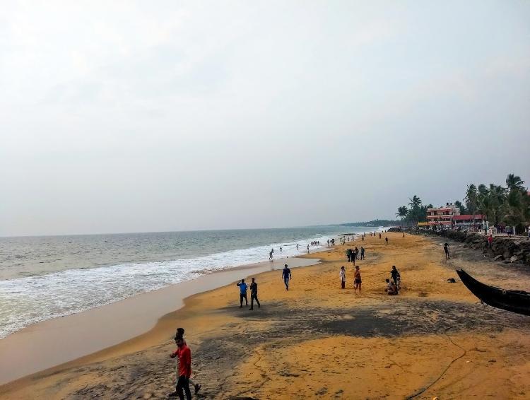Beach lover go for Samudra Beach, Kovalam
