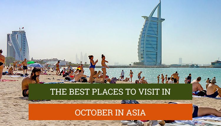 Places to visit in october in asia