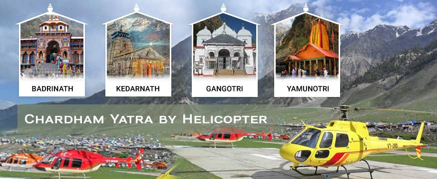 Chardham Yatra Package by helicopter