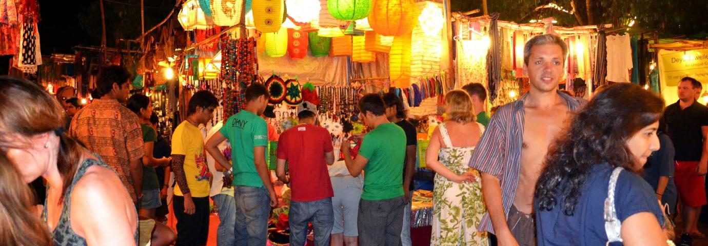 Calangute Market Square