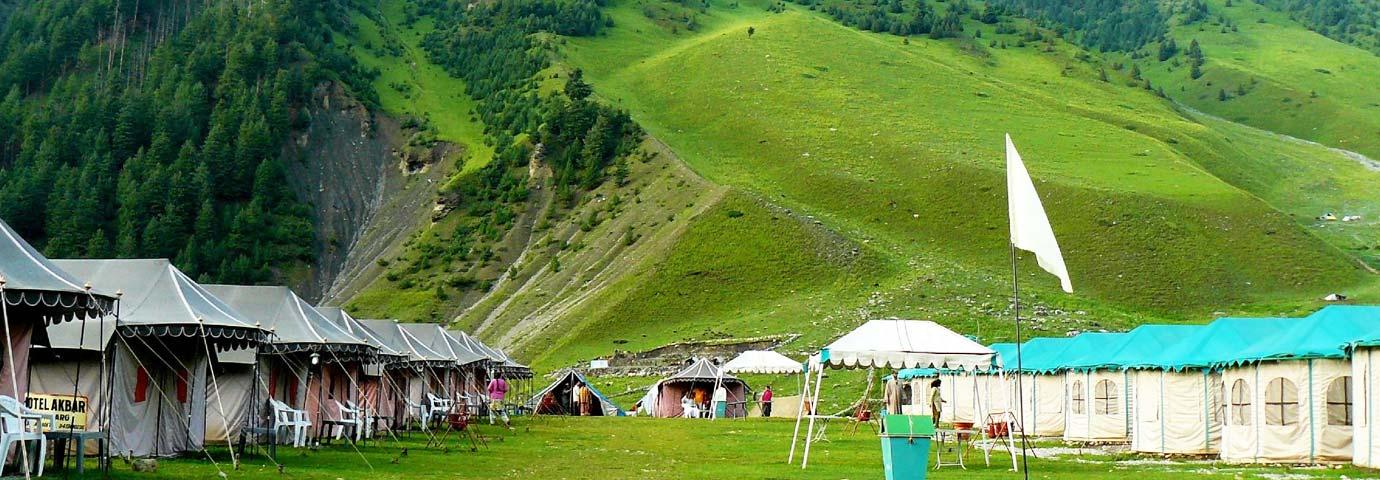 Camping in Sonamarg