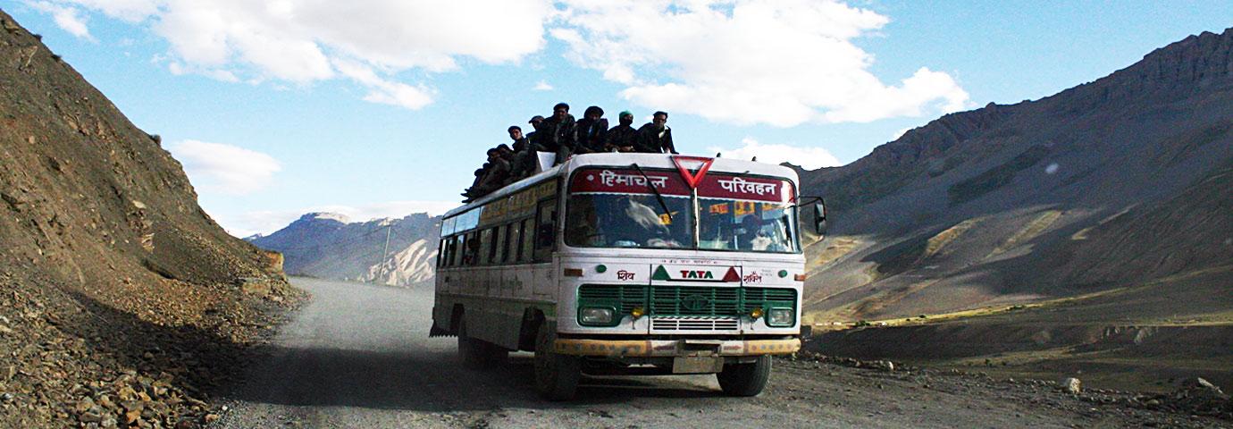 Ladakh by bus
