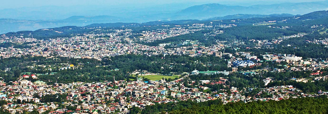 Guwahati to East Khasi Hills via Shillong