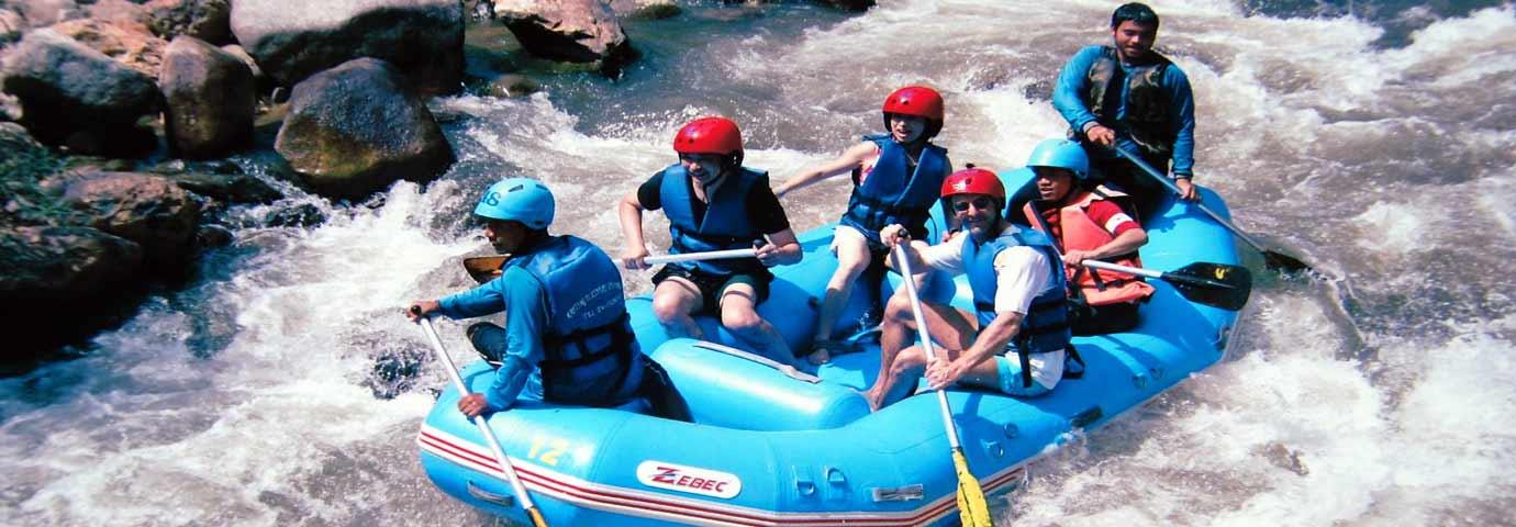 River rafting in Darjeeling