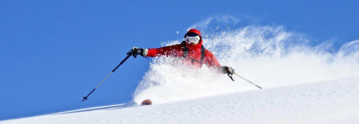Skiing in Tawang